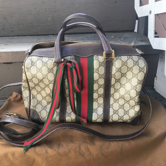 b00bf4373aa1 Gucci Handbags - 100% authentic vintage Gucci Doctor tote gm